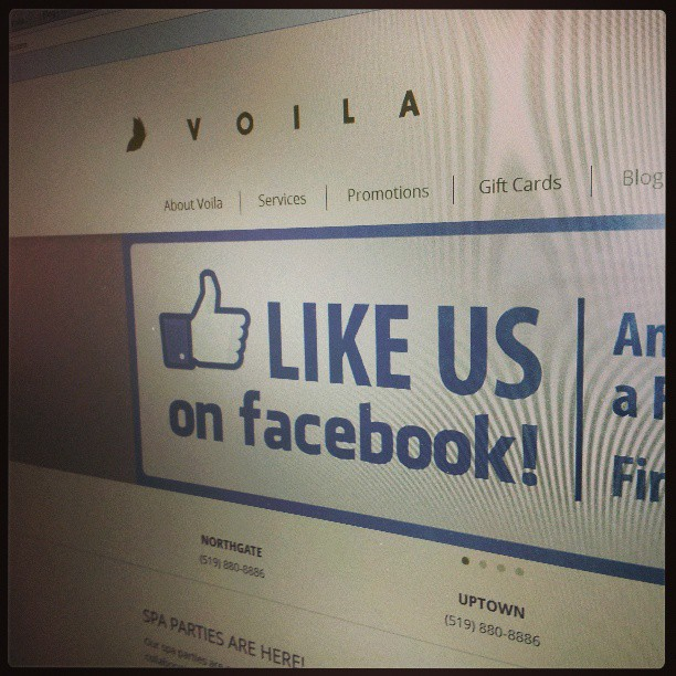 Voila voilasalon voila the best hair salon spa in - Voila institute of hair design kitchener ...
