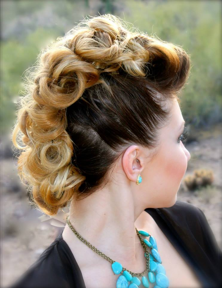All glam no frizz hair done right that beats the desert - Voila institute of hair design kitchener ...