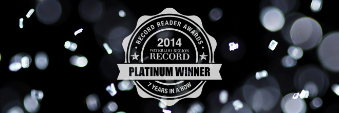 Voila Salon - Record Platinum Winner for 2014