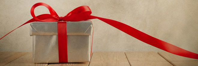 Pre-load your Gift!